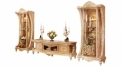 luxury European style woodcarving 4 Door TV Stand/ Cabinet , Showcase
