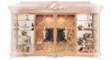 luxury European style woodcarving Big TV stand/ Cabinet