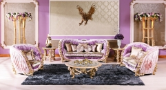 luxury European style woodcarving sofa set, Center Table , Side Table , Showcase