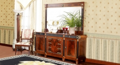 luxury new classical style wood carving buffet, sideboard, cupboard, cabinet