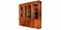 antique French style wood carving Bookcase, cabinet