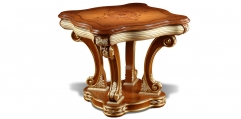 antique French style wood carving Corner table, end table