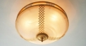 luxury decoration classical Gold 24K style round ceiling light