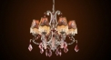 Luxury antique crystal chandelier,residential lighting,pendent lamp