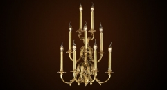 9 Candle Lights bronze Sconce Wall Lamp