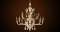 Luxury antique crystal chandelier(big size), pendent lamp,copper gold plated