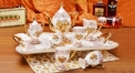 8 pcs royal chrysanthemum tea set