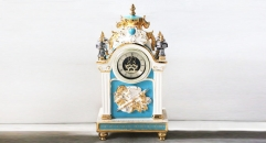 luxury decoration antique clock