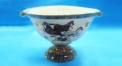 royal ivory porcelain horse bowl