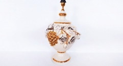 Imperial golden grape and rose table lamp