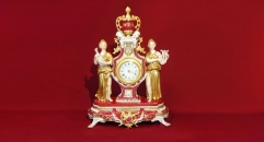 New double beauty table clock (import)
