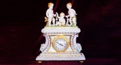 little angel decorative electronic table clock