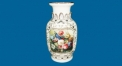 five theme porcelain leaf vase (dolomite)