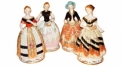 Four noble lady (porcelain arts)