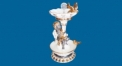 bird decorative fountain (dolomite)