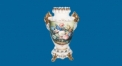 small lotus decorative vase (dolomite)