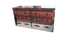 Stainless steel chest