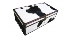 cowhide fur trunk