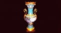 tail decorative vase