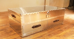 Stainless steel trunk