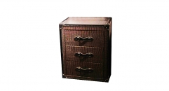 chest of drawers, 3 drawers, trunk, end table, night table