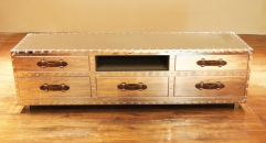 Stainless steel trunk, cabinet, sideboard