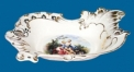 flower and leave decorative tray (dolomite)