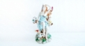 beauty angel figure with children (porcelain art)