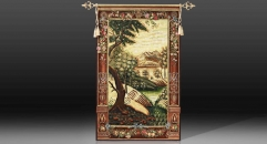 European style hanging painting, landscape theme