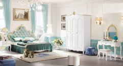 Baroque style bedroom set
