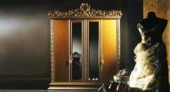 European style imperial 4 door wardrobe