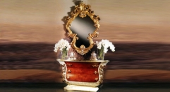 Imperial chest of drawers w/ mirror