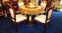 exorbitant wood carved dining room set