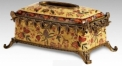 Luxury Flower Decorative Tissue Box Cover Case Vintage Porcelain Art