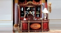 Italy Style Refined Carving Solid Wood Office Set