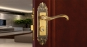 European Antique Zinc Alloy Door Lock Refined Carving Handle Luxury Locks