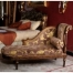 European Style Luxury Royal Chaise Lounge Sound Fabric Decorative Bench