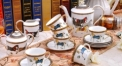 15 pieces exquisite horse theme coffee set ,royal european style coffee set, bone china tea set