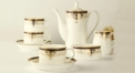 15 pieces exquisite european style coffee set, bone china tea set, high quality and fashion coffee set