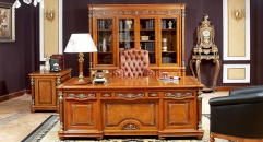 luxury hand made solid wood writing desk