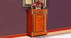 classical modern style hand made solid wood 6-drawer cabinet