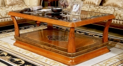 modern design good workmanship solid wood long coffee table