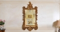 European Refined Resin Mirror Frame European Style Luxury Decor Wall Art Hotel or Beauty Salon Used