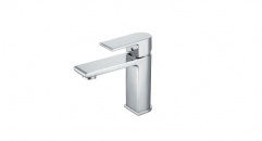 contemporary chrome color copper basin mixer, European Style Single Handle single hole Bathroom Faucet