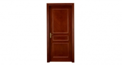 European new design wooden door