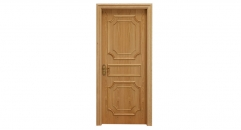 Exquisite workmanship wooden door