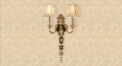 energy saving golden copper and alloy wall lamp, art decoration bedroom lighting, european antique imitation reading lamp