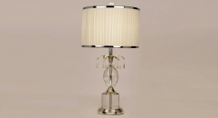 fashion design copper and import crystal table lamp, energy saving and environmental friendly high quality table lighting