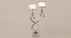 fashion decoration alloy and import twinkling crystal table lamp, energy saving and environmental friendly table light