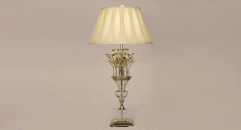 copper and import glass and crystal table lamp, energy saving and environmental friendly exquisite table light